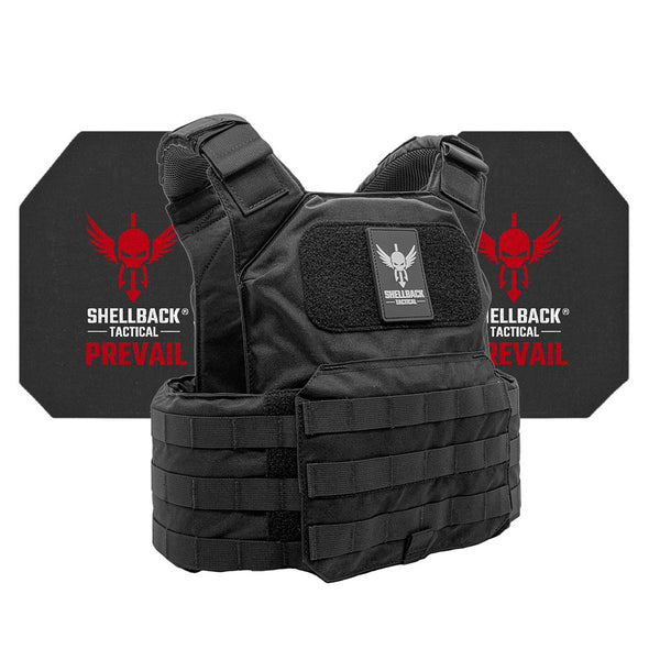 Shellback Tactical Shield Active Shooter Kit With Level IV 4S17 Plates