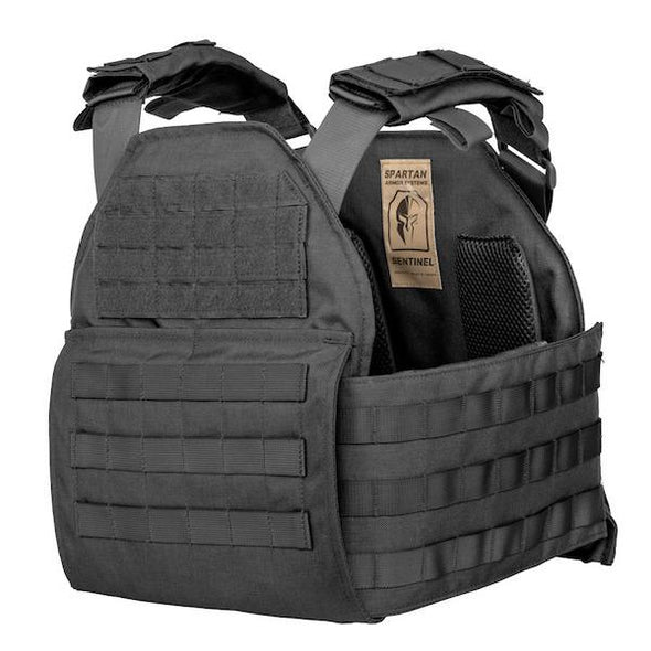Spartan Armor AR550 Level III+ Omega Body Armor and Sentinel Plate Carrier Package