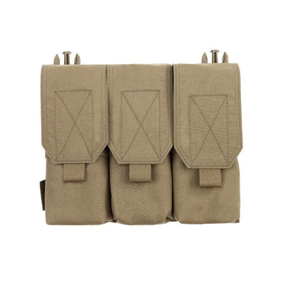 Warrior Assault Systems Removable Triple Covered M4 Pouch Panel
