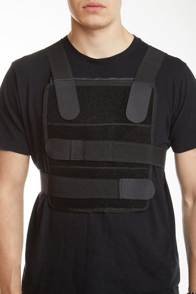 Plate carrier in black