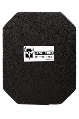 AR500 Armor 10x12 Lightweight III+ Square Back Plate