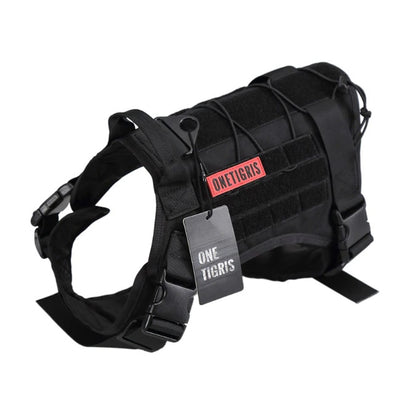 Tactical MOLLE Dog Harness for Large Dogs