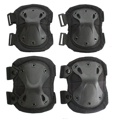 Tactical Elbow and Knee Pad Set
