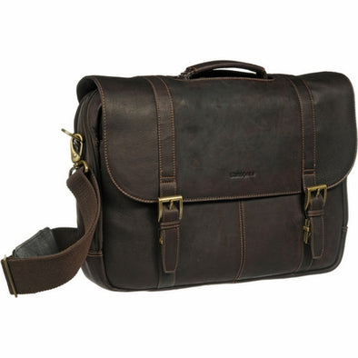 Bullet Blocker Leather Level IIIA Messenger Bag