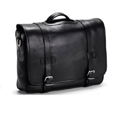 BulletBlocker Level IIIA Bulletproof Luxury Leather Flap Briefcase