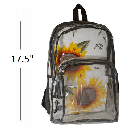 BulletBlocker NIJ Level IIIA Clear Backpack