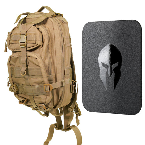 Spartan Armor Systems AR650 Backpack Level III+ Package