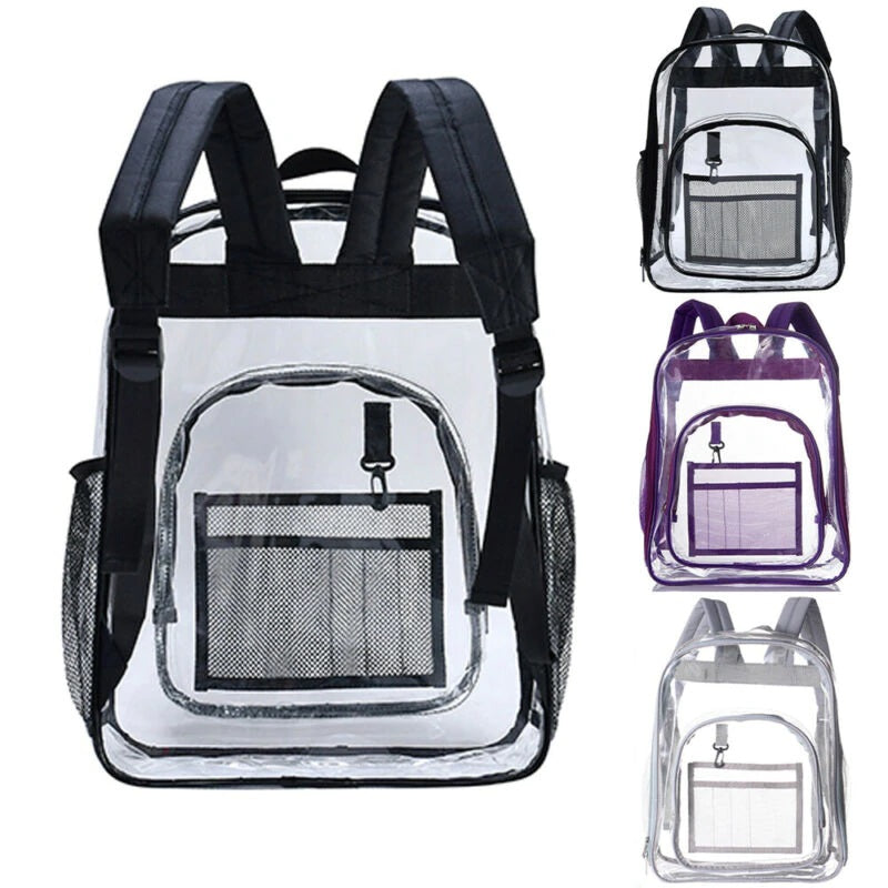 Large Clear/Transparent Backpack