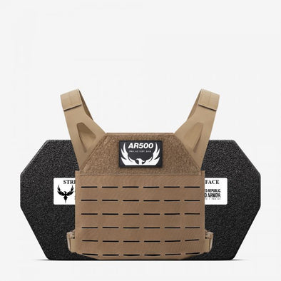 AR500 Armor AR Freeman Plate Carrier with Armor Package