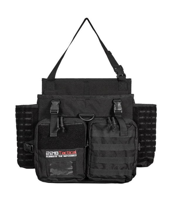221B Tactical Harlej Bag - Car Seat Organizer, Patrol Vehicle, Contractor Truck, Mobile Office
