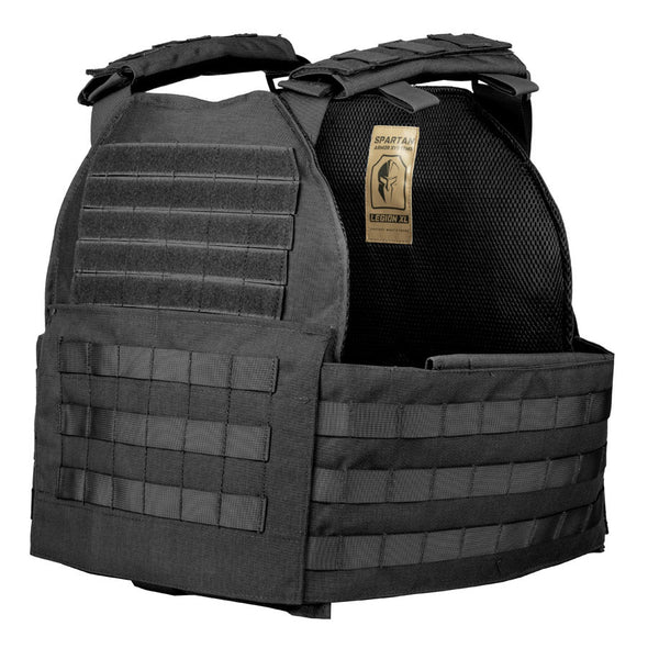Legion XL Plate Carrier and Spartan 11x14 AR550 Level III+ Body Armor Package