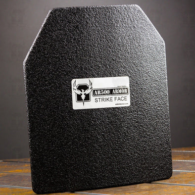 AR500 Armor 10x12 Level IIIA Lightweight Curved ASC Plate (Single)