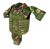 SafeGuard Armor MilTac Military Body Vest (Stab and Spike Proof Upgradeable)
