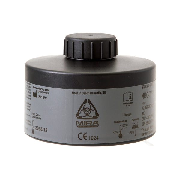 Mira Safety NBC-77 Gas Mask Filter