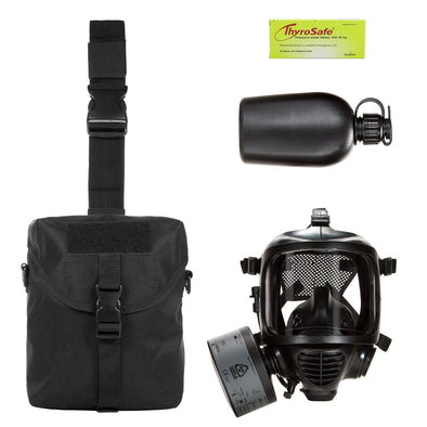 Mira Safety Gas Mask + Survival Kit