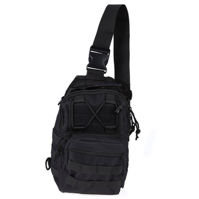 Bulletproof Zone 600D Outdoor Tactical Utility Shoulder Bag Rucksack