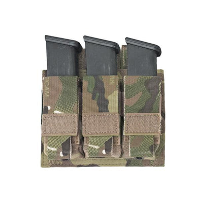 Warrior Assault Systems Triple DA 9mm Pistol Pouch