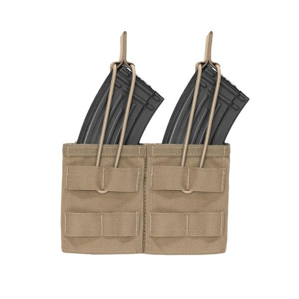 Warrior Assault Systems Double MOLLE Open AK 7.62mm Mag Pouch