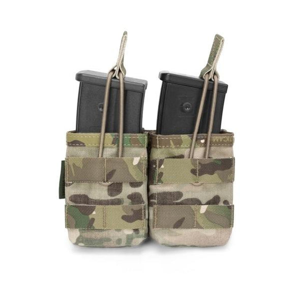 Warrior Assault Systems Double MOLLE Open G36 Mag Pouch