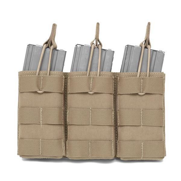 Warrior Assault Systems Triple Molle Open M4 5 56mm Mag