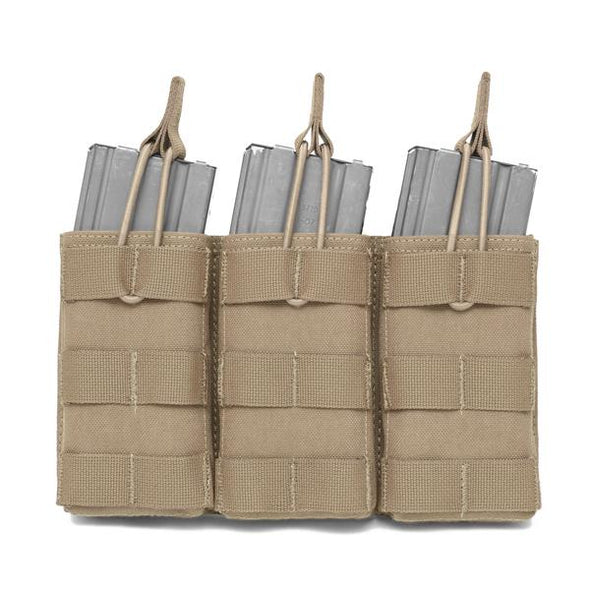Warrior Assault Systems Triple MOLLE Open M4 5.56mm Mag Pouch