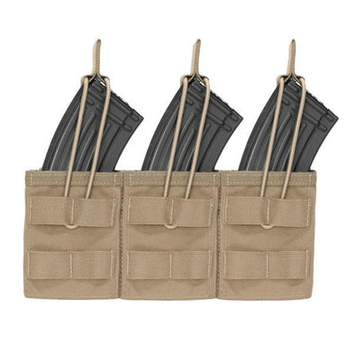 Warrior Assault Systems Triple MOLLE Open AK 7.62mm Mag Pouch