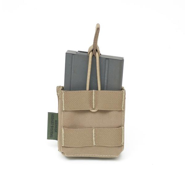 Warrior Assault Systems Single 7.62 x 51mm Open Short Mag Pouch