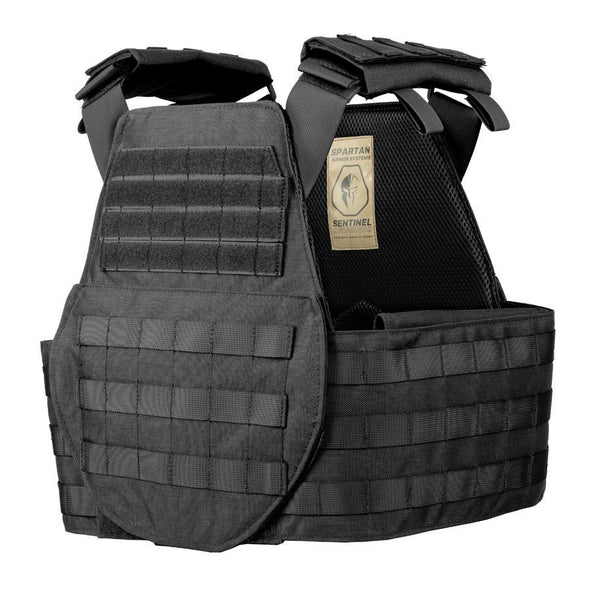 Spartan Armor AR550 Level III+ Body Armor and Sentinel Swimmers Plate Carrier Package