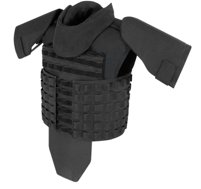 SafeGuard Armor TacPro Tactical Body Vest (Stab and Spike Proof Upgradeable)