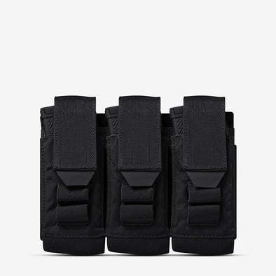 AR500 Armor Multi-Caliber Rifle Magazine Triple Pouch