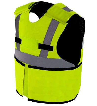 SafeGuard Armor VIZER High Visibility Bullet Proof Vest Body Armor (Stab and Spike Proof Upgradeable)