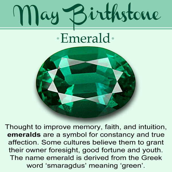 May Birthstone: The Emerald