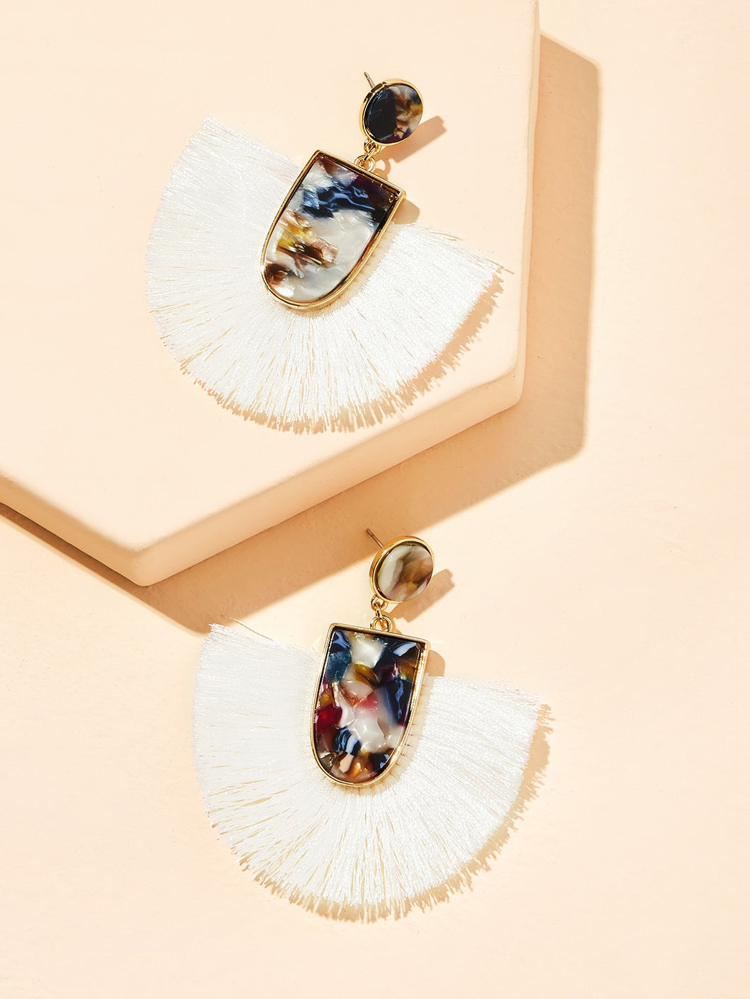 Markel Marble Drop Earrings