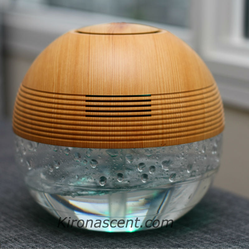 TRANQUILITY ORB AIR PURIFIER LIGHT WOOD
