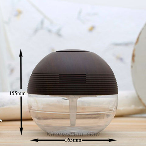 TRANQUILITY ORB AIR PURIFIER DARK WOOD