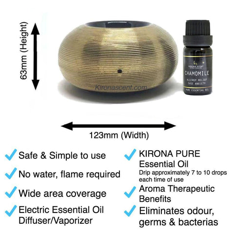 Aromatic Pond (Gold) Electric Diffuser