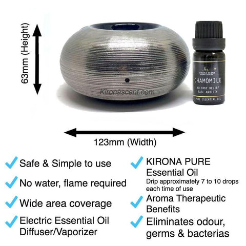 Aromatic Pond (Silver) Electric Diffuser