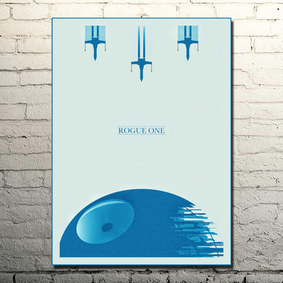 Rogue One Retro Poster
