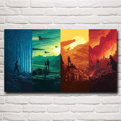 The Force Awakens - Canvas Art