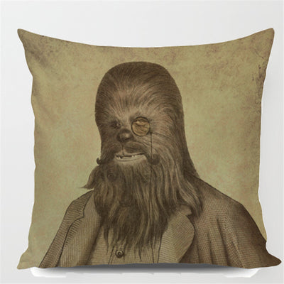 Retro Portrait Pillow - Star Wars Collection