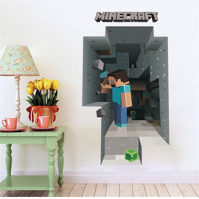 Minecraft - Entrance to the Mines - Wall Decal