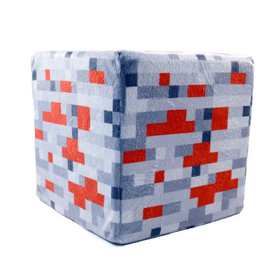 Redstone Ore - Minecraft Plush Pillow