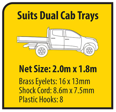 Cargo Mate Trayback HD Load Cover Dual Cab