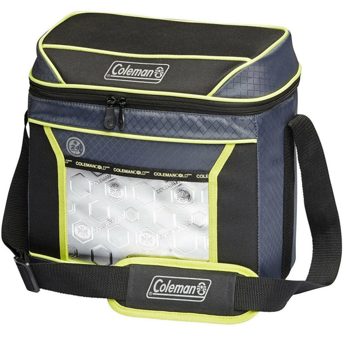 Coleman 16 Can Xtreme Soft Cooler | Black/Green - Ice Box