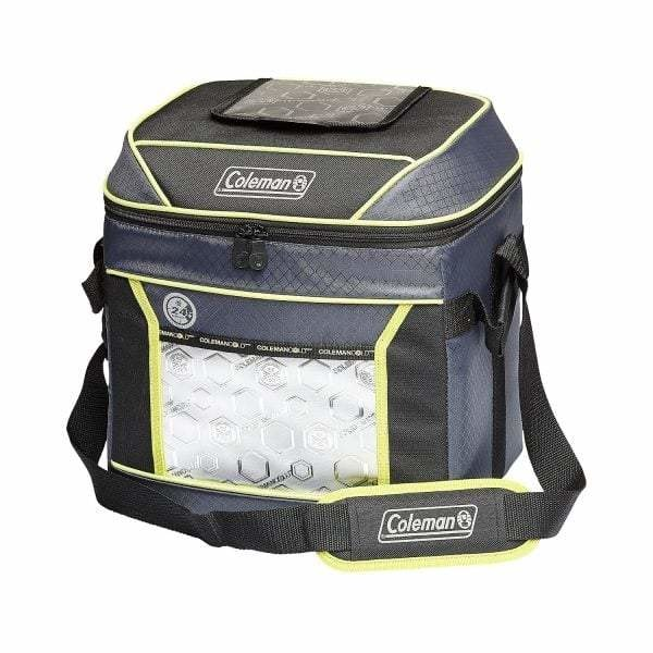 Coleman 30 Can Xtreme Soft Cooler | Black/Green - Ice Box