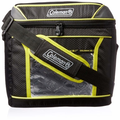 Coleman 9 Can Xtreme Soft Cooler | Black/Green - Ice Box