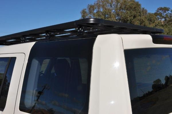 Eezi-Awn K9 Land Rover Discovery 3 and 4 Roof Rack With Tracks - Roof Racks