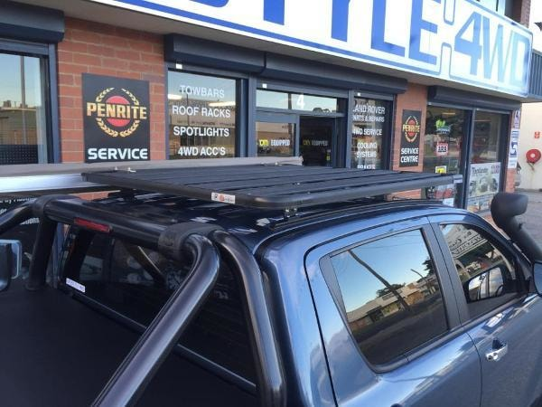 Eezi-Awn K9 Toyota Hilux 2005-2015 Double Cab Roof Rack - Roof Racks