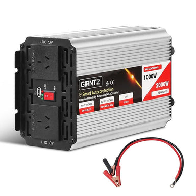 Giantz 1000W Puresine Wave DC-AC Power Inverter - Inverter