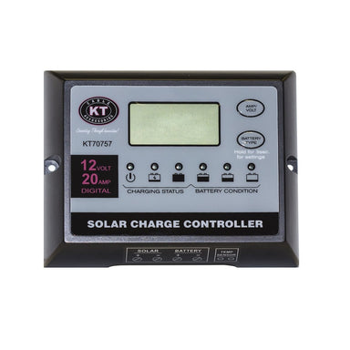 KT Solar Charge Regulator PWM 20Amp - Solar Accessories